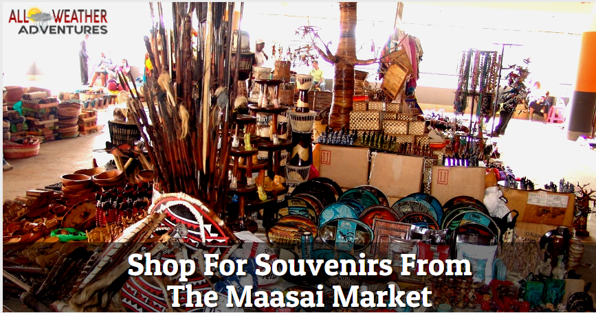 Shop For Souvenirs From The Maasai Market
